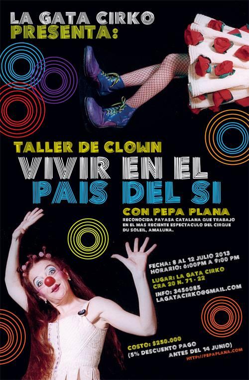 Curs de Clown Bogota